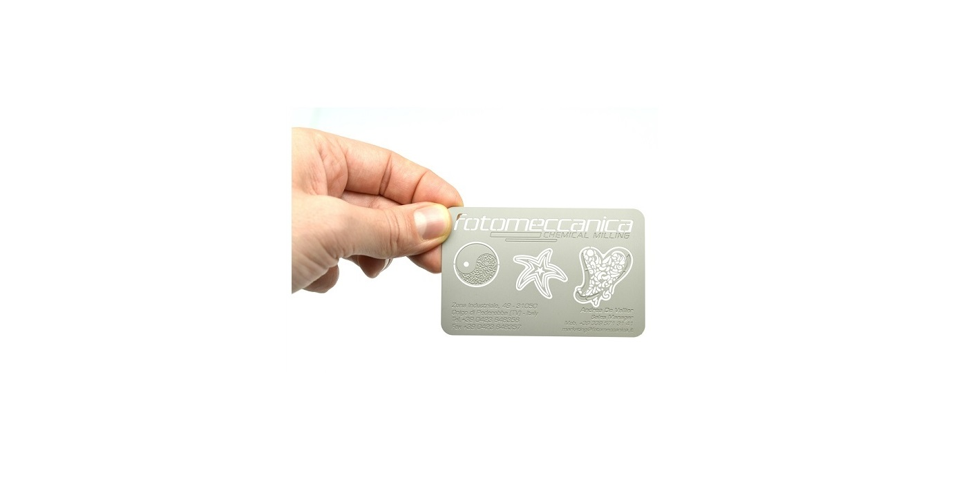 Visitenkarten Und Anstecker Fotomeccanica